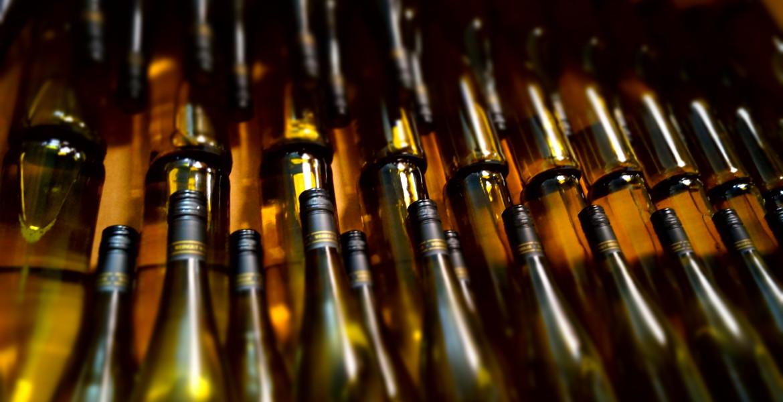 Flaschen Riesling