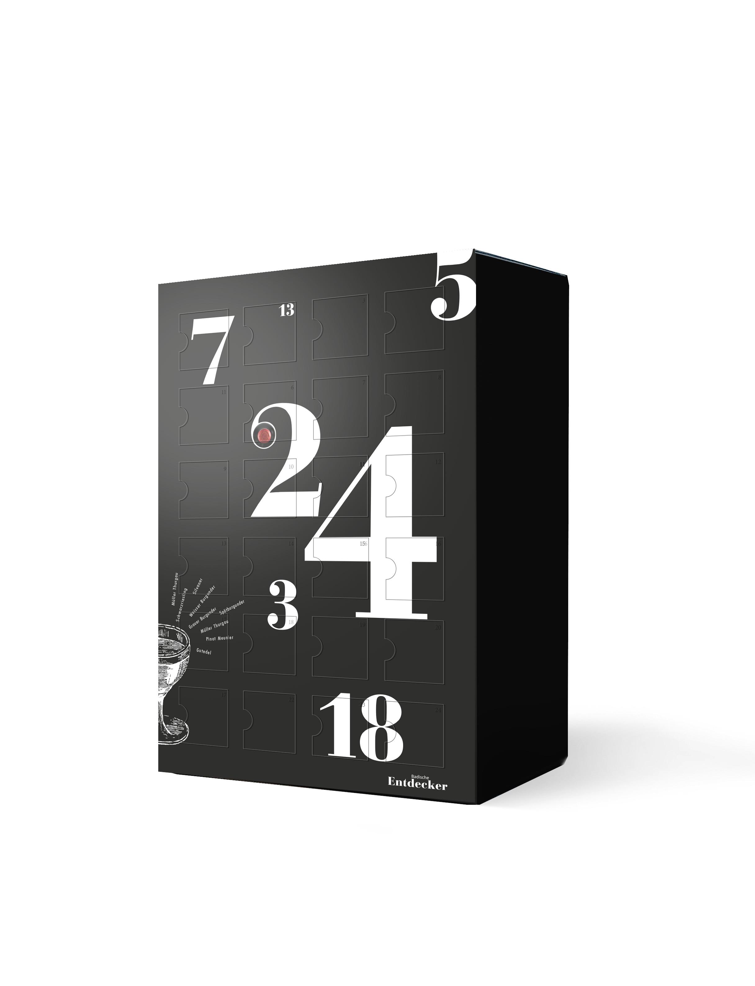 WEINBOX – Der badische Adventskalender ab sofort wieder verfügbar