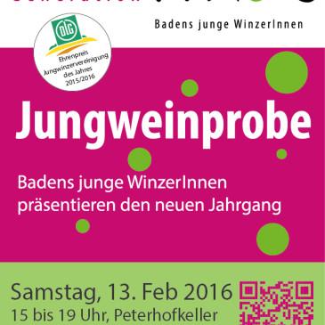 Jungweinprobe Generation Pinot, Peterhofkeller Freiburg