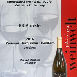 Meiningers Weinwelt verkostet Vinissima Weine erschienen in der Ausgabe 04/2016