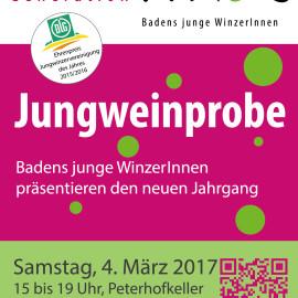 Jungweinprobe 2017 im Peterhofkeller, Freiburg am 04.03.2017, 15.00h – 19.00h