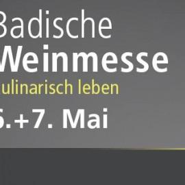 Einladung zur Badischen Weinmesse in Offenburg 06.-07. Mai 2017