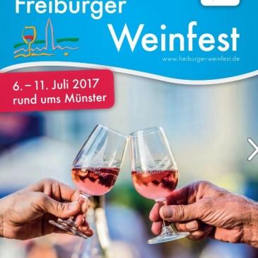 Freiburger Weinfest mit der GENERATION PINOT
