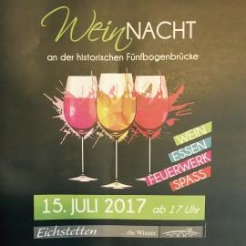 Weinnacht in Eichstetten am 15.07.17 ab 17 Uhr