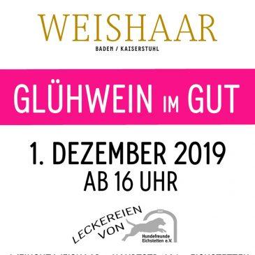 Glühwein Im Gut am 01.12.2019 ab 16 Uhr im Weingut Weishaar