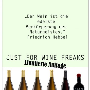 JUST FOR WINE FREAKS-WEINPAKET